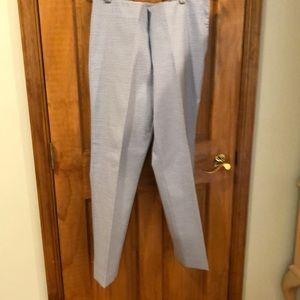 Michael Kors blue/ white trouser